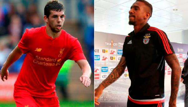 Jon Flanagan could leave Liverpool and (right) Anderson Talisca is being tracked