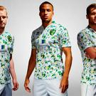 The new Norwich jersey