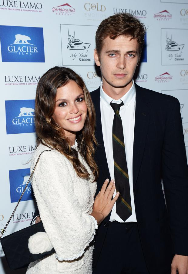 Rachel Bilson with husband Hayden Christensen (Photo by Michael Buckner/Getty Images for Torch)