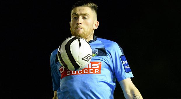 Craig Walsh during his days with UCD