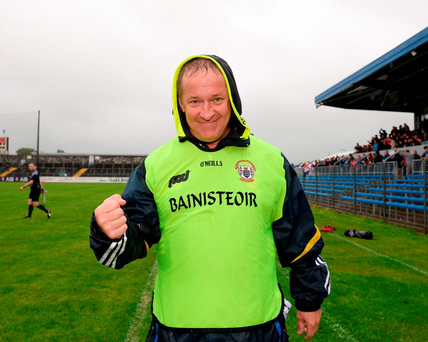 Clare manager Colm Collins has seen his team make strong progress. Photo: Sportsfile