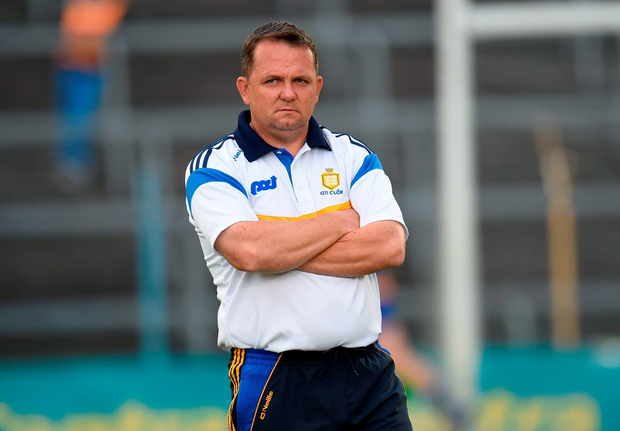 'Fitzgerald is expected to run the line as usual when Clare play Galway in Thurles tomorrow.' Photo: Sportsfile