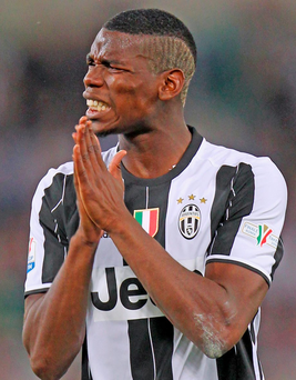 Juventus may be holding out for more than £100m for Paul Pogba, but he's not in the same league as legends Michel Platini and Liam Brady Photo: Paolo Bruno/Getty Images