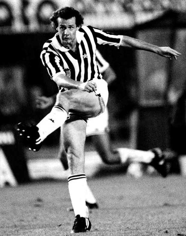 Liam Brady Photo: MSI / Action Images