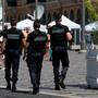 French police patrol the area of the terror attack in Nice as our Justice Minister says it underlines the need for vigilance. Photo: Kyran O'Brien