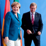 German Chancellor Angela Merkel, left, and Irish Prime Minister Enda Kenny earlier this month. Photo: AP