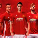 Manchester United launched their new home kit