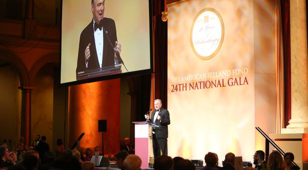 Tim Kaine at The American Ireland Fund Washington DC National Gala back in March 2016 Photo:Caitlyn Myler