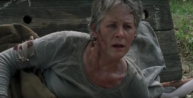 Melissa McBride as Carol in The Walking Dead