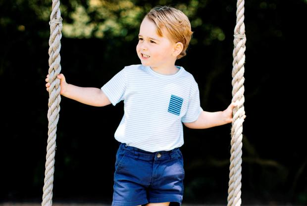 Official photos from Kensington Palace to mark Prince George's third birthday.Photo: Matt Porteous / PA