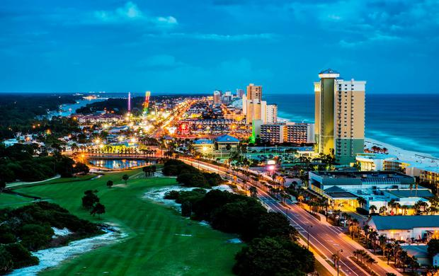Panama City Beach is a seriously fun place and a favourite destination for both 'spring breakers' and families alike