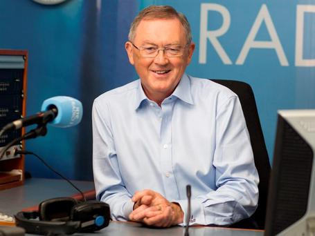 Radio host Sean O'Rourke