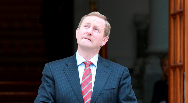 Taoiseach Enda Kenny. Photo: Frank Mc Grath