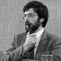 Unchallenged: Gerry Adams pictured in 1983, the year he became Sinn Fein president — a position he holds to this day. Photo: PA
