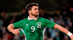 Republic of Ireland's Shane Long. Photo: David Maher / Sportsfile