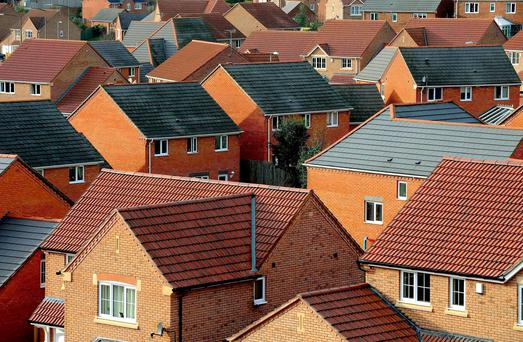 A new property bubble caused by a lack of affordable homes and Central Bank lending rules is seeing the cost of houses rise in areas outside Dublin's commuter belt. Stock photo: PA