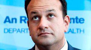 Star power: Former health minister and now Minister for Social Protection, Leo Varadkar has just enough cool to offset his young fogeydom and is, at present, our most credible candidate for Taoiseach. Photo: Gareth Chaney Collins