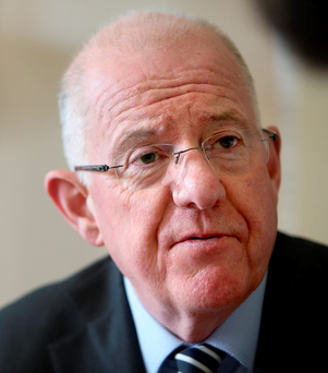 Worried: Foreign Affairs Minister Charlie Flanagan. Photo: Gerry Mooney