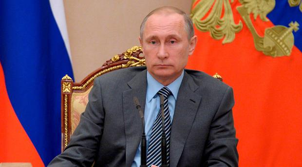 President Vladimir Putin on Friday called for a new anti-doping commission to be created to shape Russia's future strategy, as the country faces possible exclusion from the Rio de Janeiro Olympics. Photo: Alexei Nikolsky/Sputnik, Kremlin Pool Photo via AP