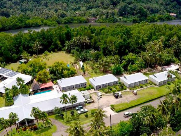 One lucky winner will own the Kosrae Nautilus Resort, pictured.