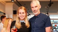 Anna O'Shea and Gareth Downey at the launch on Lower Baggot Street. Picture: Leon Farrell/Photocall Ireland