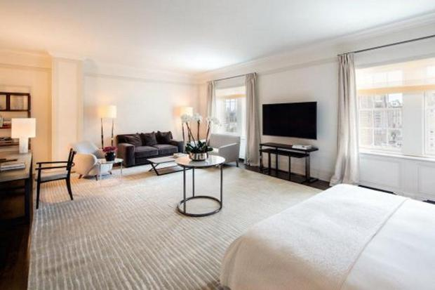 The penthouse suite at The Mark Hotel