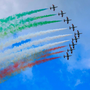 Italian aerobatics team Frecce Tricolore Photo: Gareth Chaney, Collins
