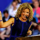 Democratic National Committee chairwoman Debbie Wasserman Schultz speaks at a rally for Democratic presidential candidate Hillary Clinton and her running mate Senator Tim Kaine. Photo: Reuters