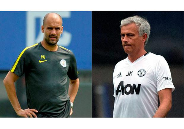 Pep Guardiola and Jose Mourinho will have to wait to lock horns