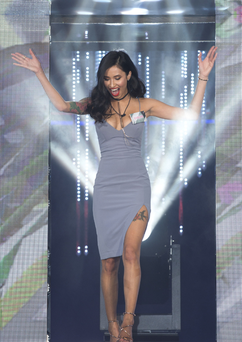 Evelyn Ellis walked out of the Big Brother house a couple of days before the finale - but then returned. Photo: PA