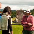 Storytelling at Jerpoint Abbey, Co. Kilkenny