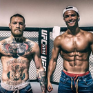 Conor McGregor and Cristiano Ronaldo. Courtesy of themaclife.com
