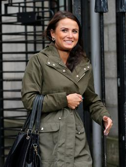 Laurentia Racu pictured leaving the Four Courts Credit: Collins Courts
