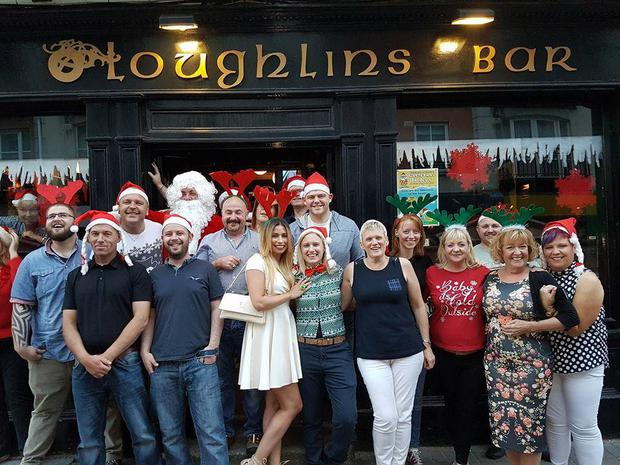 O'Loughlin's Christmas in July party. Photo: Facebook