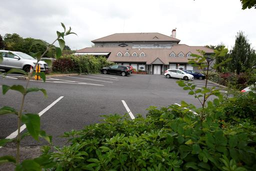 The site of the former Kiely's pub in Mount Merrion. Photo: Frank McGrath