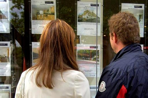 There has been a big drop-off in the number of mortgage buyers since 2008. Photo: PA