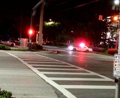 Scene of the mass shooting in Fort Myers, Florida (Photo: Facebook/NBC Station WBBH)