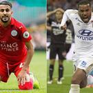 Riyad Mahrez and Alexandre Lacazette remain on Arsenal's radar