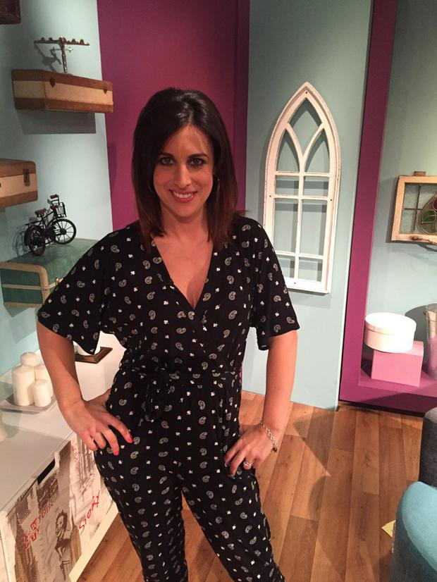 Lucy Kennedy on The Seven O'Clock Show. Picture: Twitter
