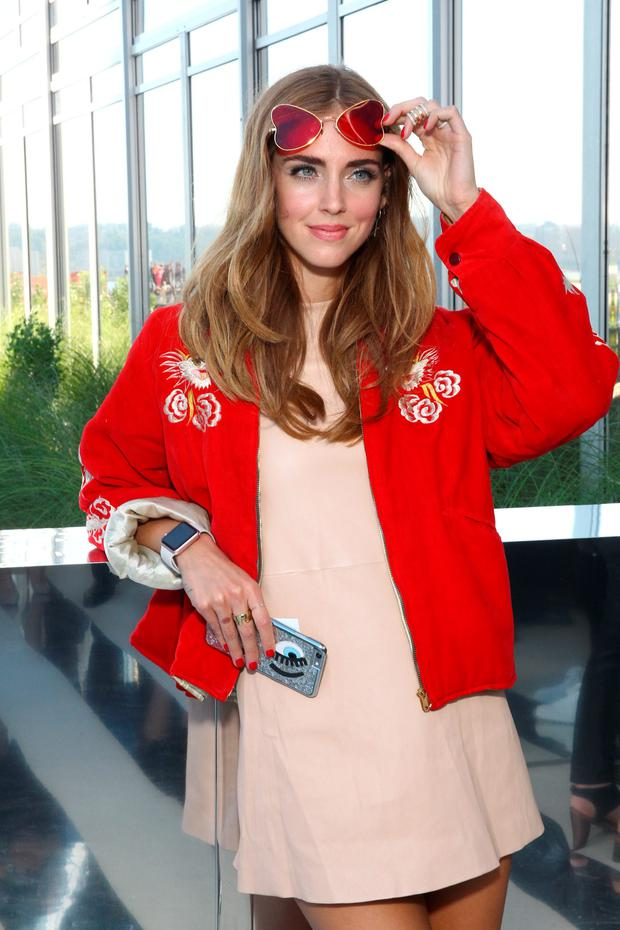 Blogger Chiara Ferragni attends the Coach Women s Spring 2016 Show at the  Highline during New York Fashion Week on September 15 32846b45cb47
