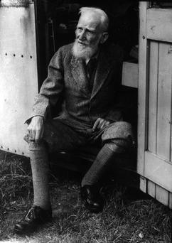 George Bernard Shaw. Picture believed to have been taken in 1928. (Part of the Independent Newspapers Ireland/NLI Collection)