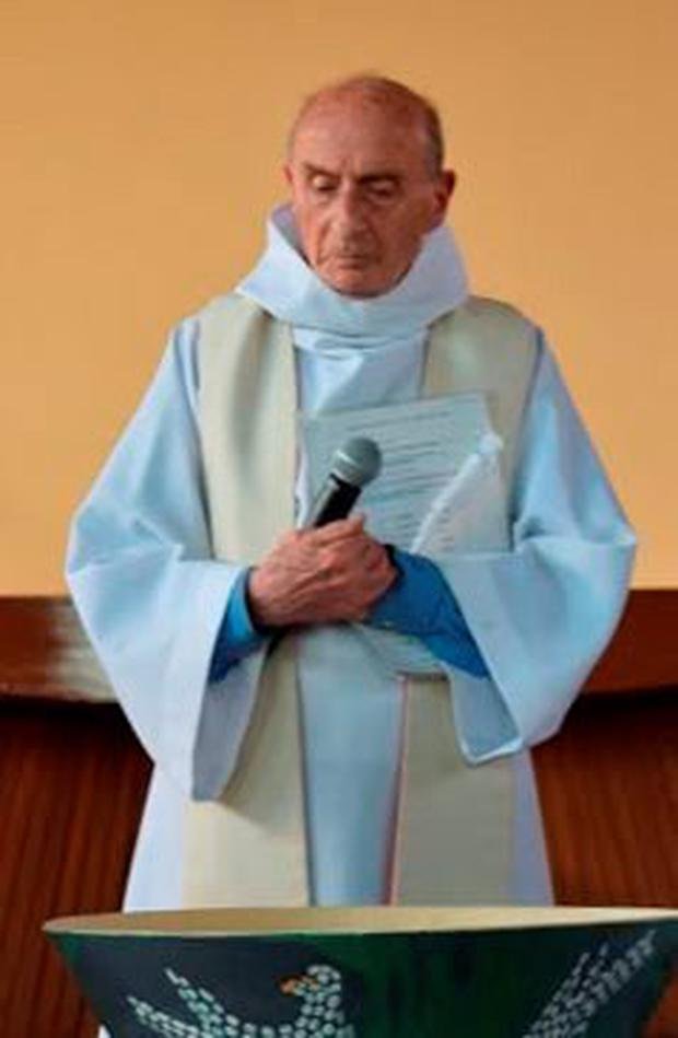 An undated photo shows French priest, Father Jacques Hamel of the parish of Saint-Etienne. Photo Courtesy of Parish of Saint-Etienne via Reuters