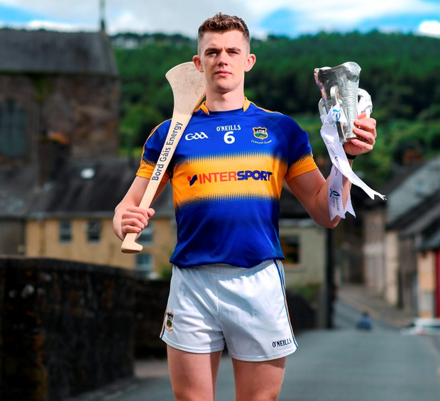 Ronan Maher has been a part of the Tipperary U21 panel since 2013 and will lead his county in tonight's Bord Gáis Energy Munster U21 hurling final against Waterford. Photo: Stephen McCarthy/Sportsfile