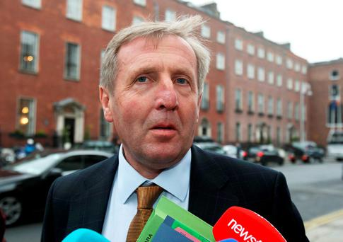 Agriculture Minister Michael Creed: concerns on labelling. Photo: Tom Burke