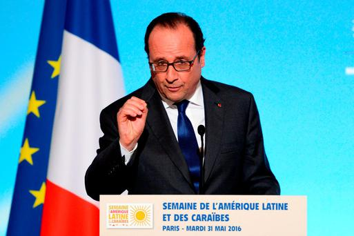 Francois Hollande. Photo: AFP/Getty