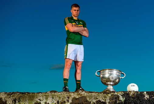 Peter Crowley, here attending the launch of the All-Ireland SFC series in Dún Laoghaire, is confident Kerry's return to Croke Park will spark improvement. Photo: Stephen McCarthy/Sportsfile