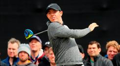 McIlroy is often referred to as a streaky putter, but it's hard to think of a week where he's been 'on' this year. The Irish Open win was a triumph of ball striking. His wedge play and putting were suspect Photo: Andrew Redington/Getty Images