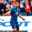 Henrikh Mkhitaryan is aiming to make a name for himself at Manchester United Photo:Martin Rickett/PA Wire