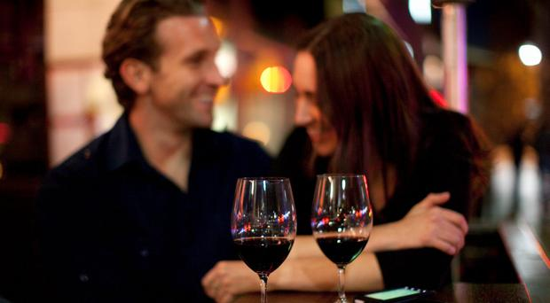 'Apparently, couples who drink together have better relationships'. Stock photo: Getty