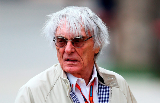 F1 boss Bernie Ecclestone Photo: Lars Baron/Getty Images